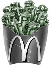 money mcdonalds